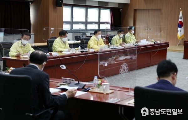충남도, 공공기관장 간담회…기관별 현안 공유·토론